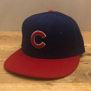 Chicago Cubs Classic New Era Fitted Hat 7